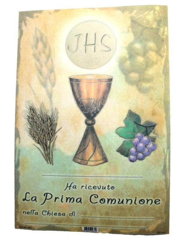 Eccezionale Ricordo per Sacramenti Semprini Arredi Sacri Arte Sacra e Articoli  LB68