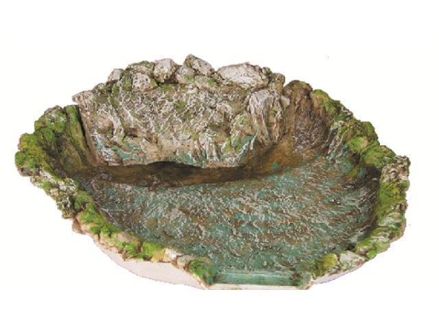 Lago con pompa acqua arte sacra e articoli religiosi for Laghetto resina