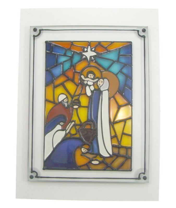 Articoli regalo per natale natale arte sacra e articoli for Disegni su vetro