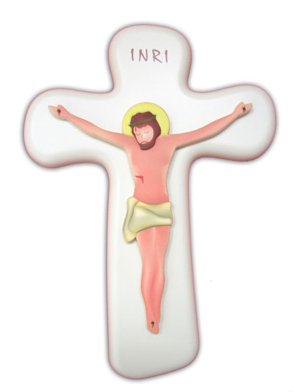 Crocifissi articoli religiosi vendita online su semprini for Immagini punto croce per bambini