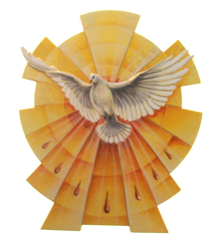 Favoloso RICORDO CRESIMA COLOMBA SPIRITO SANTO Ricordo per Sacramenti  PI28