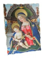 AFFRESCO CM 20X28 IN PICTOGRAFIA - MADONNA