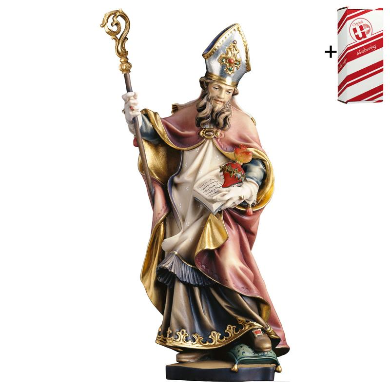 s. francesco di sales con cuore spinato + box rega