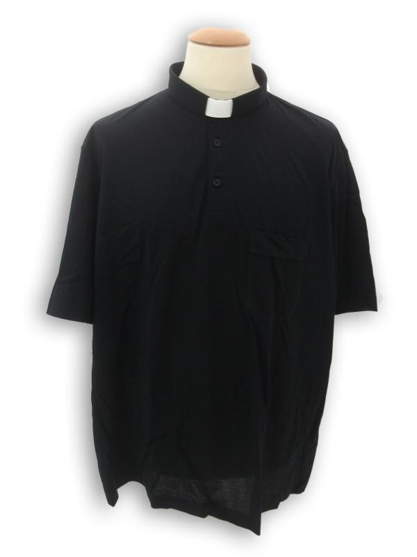 polo clergy filo scozia nero mm