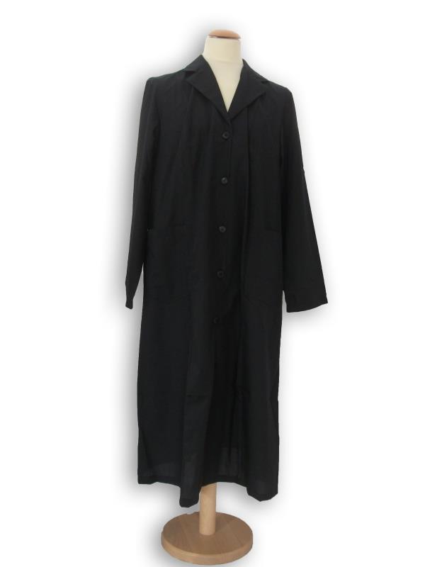 Grembiule suora in cotone nero abbigliamento vendita for Arredi religiosi