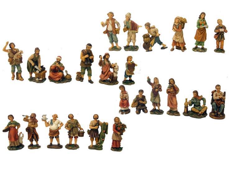 Pastori per presepe cm 12 Presepe tipo legno | vendita online
