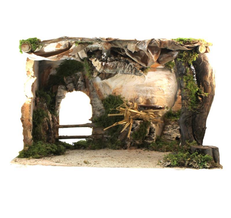Capanna con luce cm 50 vendita online semprini arredi sacri for Comprare capanna scozzese