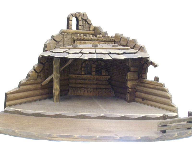 Presepe Artigianali Di Legno : Presepe artigianale legno brick vendita