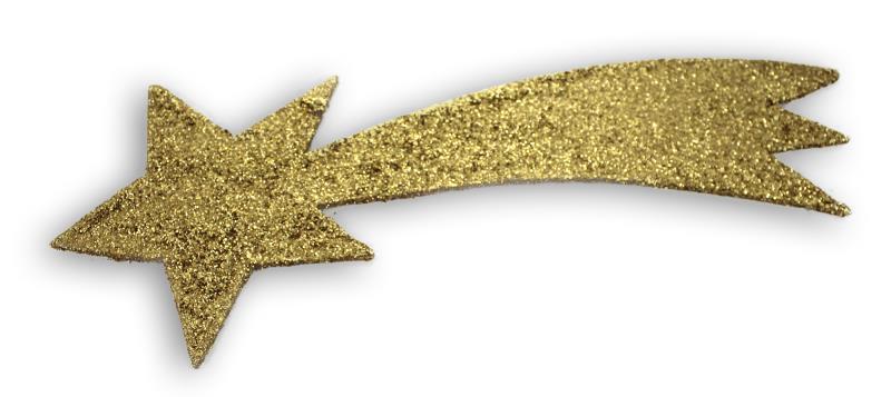 Stella cometa oro cm 32 Accessori per Presepe | vendita online
