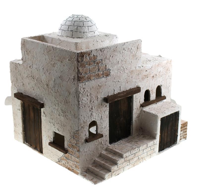 Casa araba cm 25x21 case presepe vendita online semprini for Immagini case