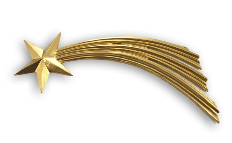 Stella cometa oro cm 28 Accessori per Presepe | vendita online