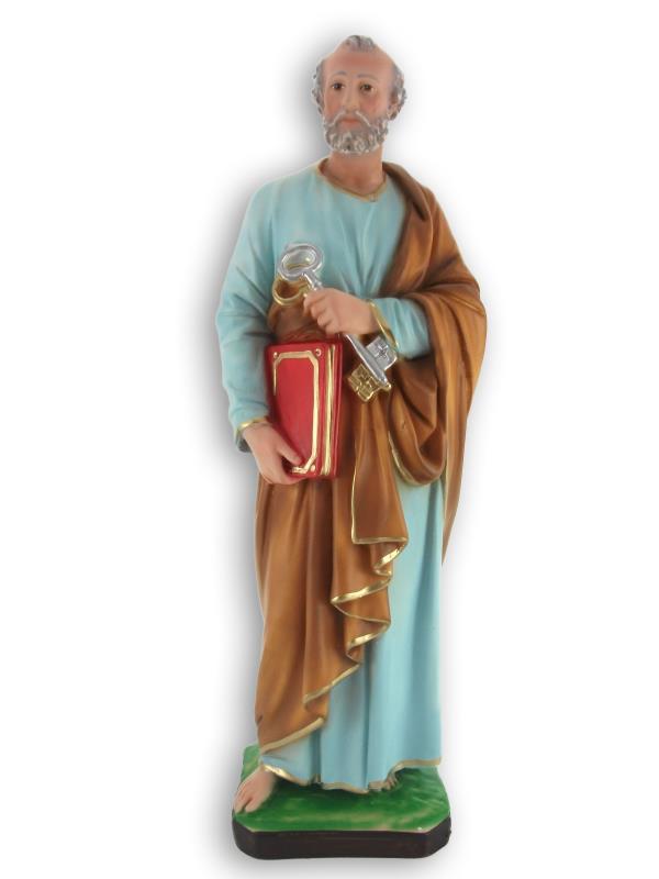 Statua San Paolo cm 42 in resina