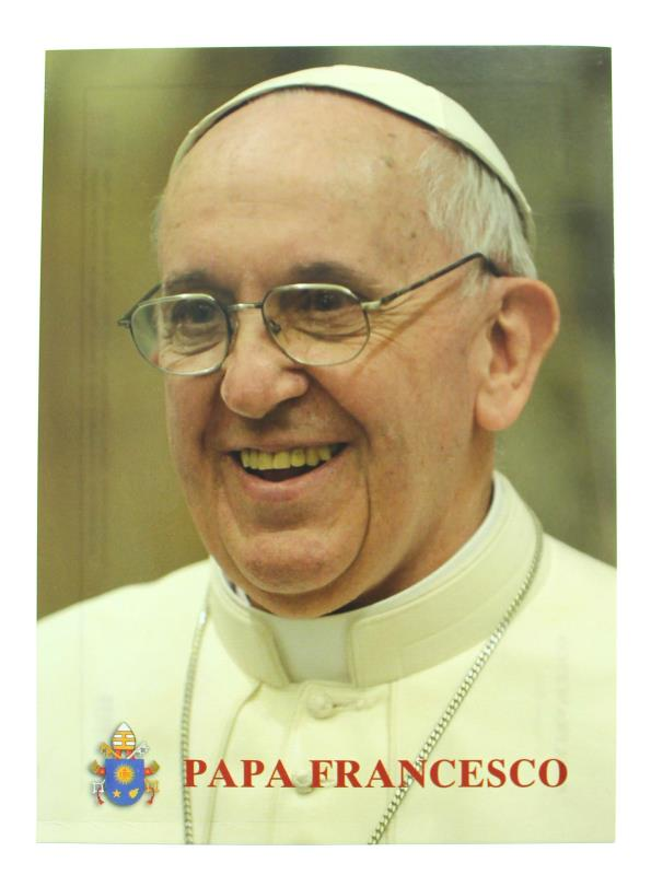 cartolina papa francesco