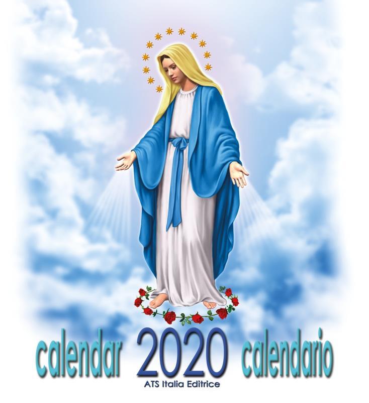 Calendario Madonna 2020.Calendario Madonna Miracolosa Cm 32x34 Libretti Vendita Online Semprini Arredi Sacri