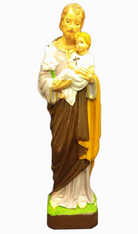 Statua san giuseppe cm 16 statue vendita online semprini for Arredi interni san giuseppe vesuviano