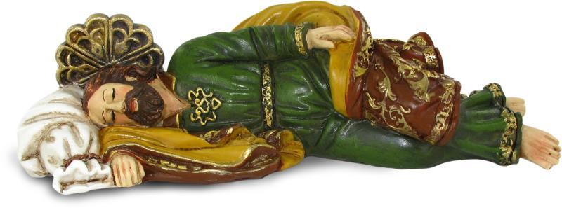 Statua san giuseppe dormiente cm 40 statue vendita for Arredi interni san giuseppe vesuviano