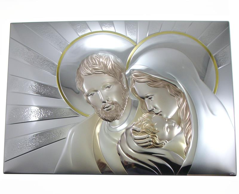 Sacra famiglia argento cm vendita online su semprini