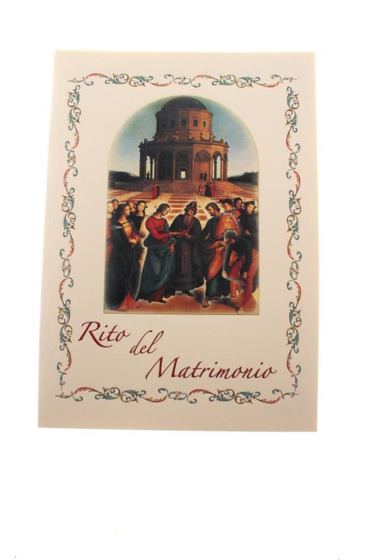 Libretti Matrimonio Rito Romano : Libretto rito del matrimonio arte sacra e