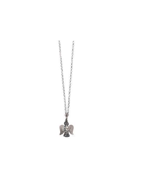 economico per lo sconto 35add 14601 Collana in argento con angelo traforato Ciondoli | vendita online Semprini  Arredi Sacri