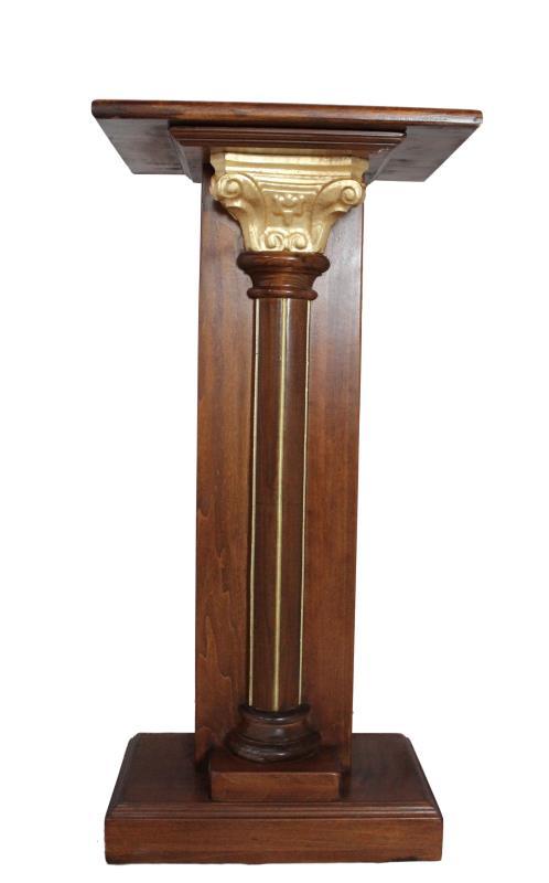 Colonna legno oro cm 110x50x30 Tabernacoli | vendita online Semprini ...