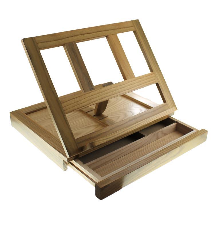 Leggio da mensa legno 26x35 vendita online semprini - Leggio per libri da tavolo ...