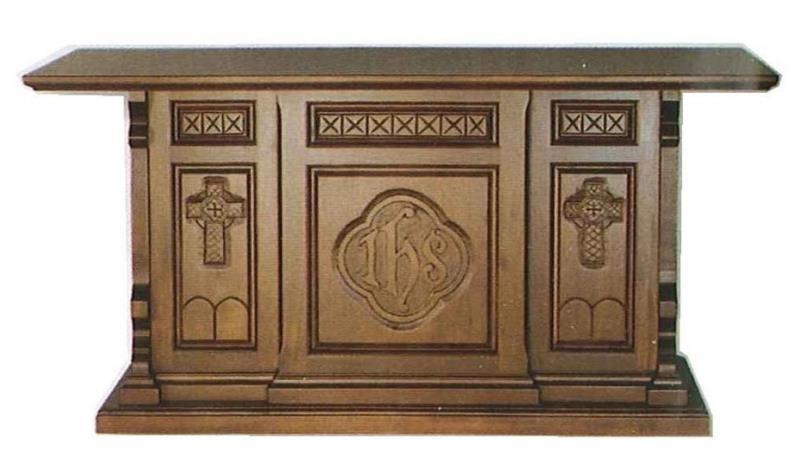 Altare in legno massello con intaglio altari vendita online