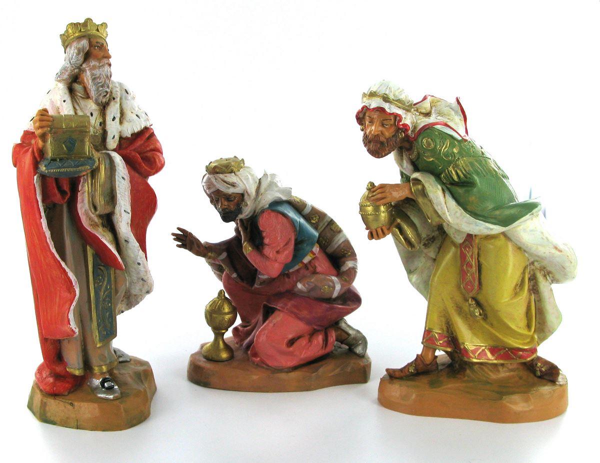 Stock re magi in legno cm natale vendita online semprini