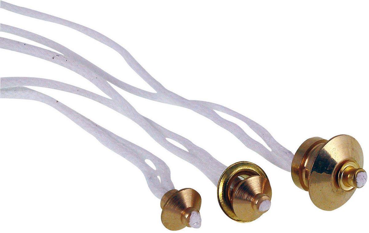 Gaoominy 3Pz Adattatore per Porta Stoppino in Vetro con Lampada A Olio con Stoppino in Cotone Rotondo da 4,7 Pollici