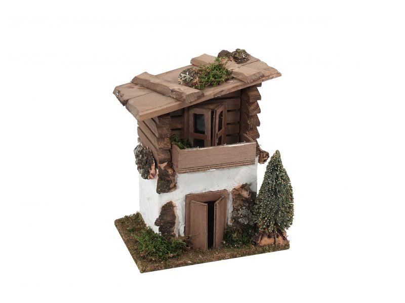 Casa nordica con pino case presepe vendita online semprini