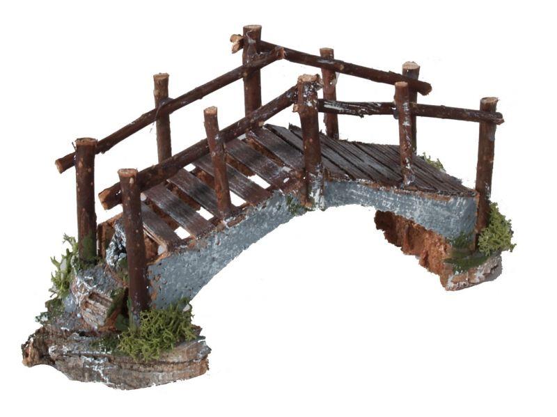 Ponte in sughero e assi di legno – bertoni presepe linea natale