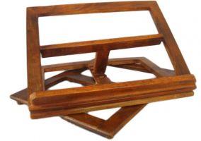Leggio da tavolo in legno cm 21x31 leggio da mensa arte - Leggio da tavolo per studiare ...